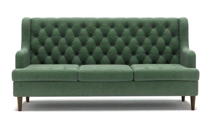 Диван Dublin трехместный зеленого цвета