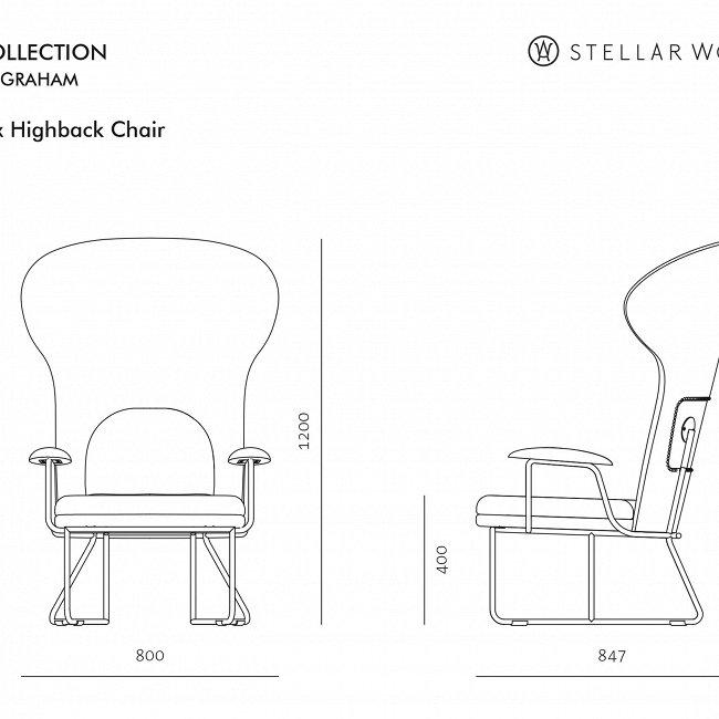 Кресло Chillax темно-серого цвета