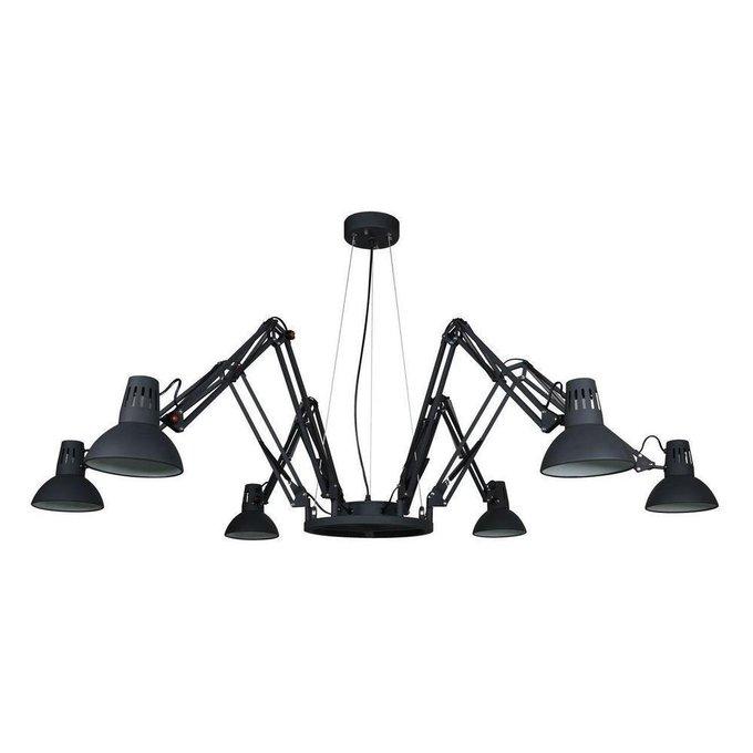 Подвесная люстра Arte Lamp Ragno из металла