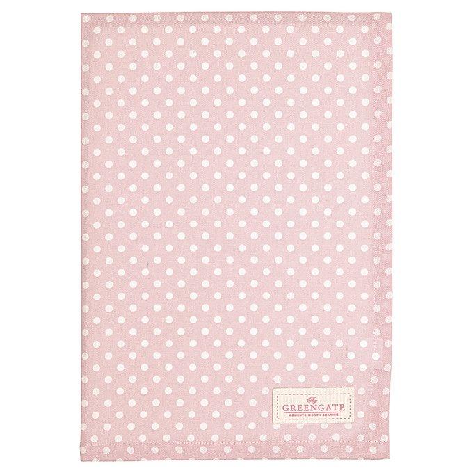 Полотенце Spot pale pink из хлопка
