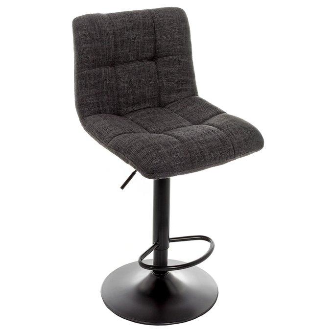Барный стул Milton серый с регулируемой высотой
