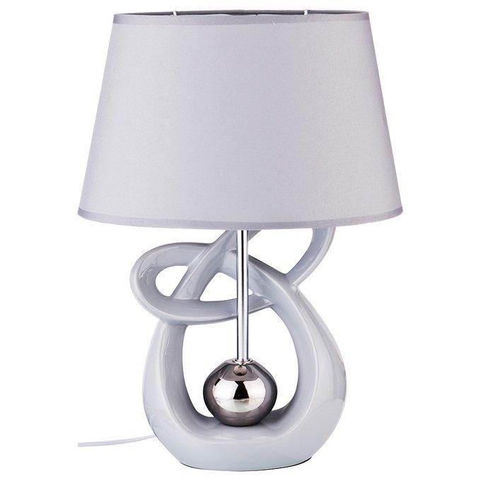 Настольная лампа с керамическим основанием
