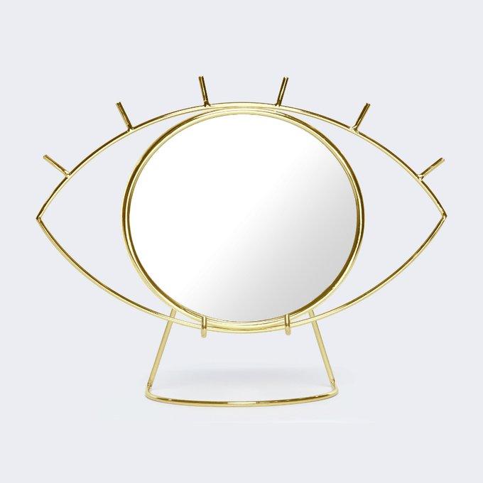 Настольное зеркало Cyclops в стальной раме