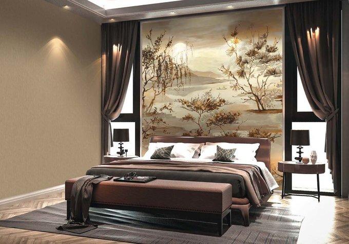 Обои Muralto Oasi Brown Panel в коричневых тонах