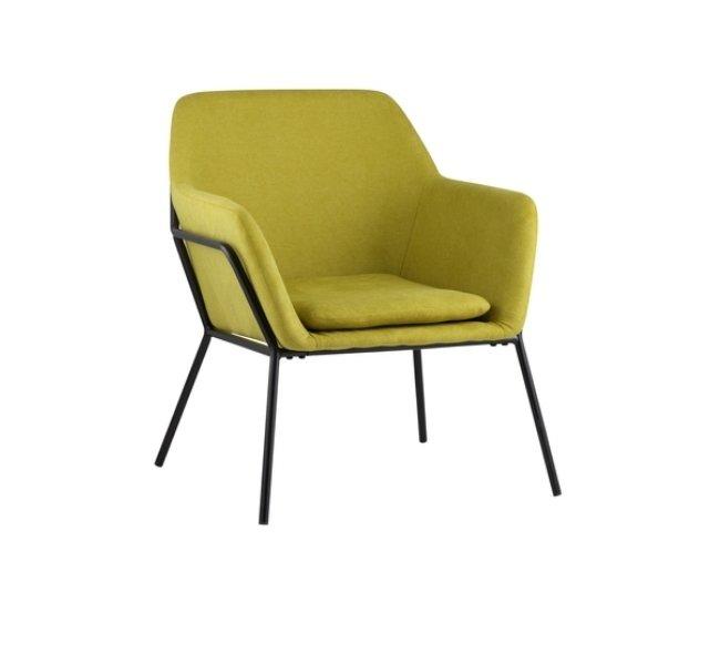Кресло Шелфорд светло-зеленого цвета