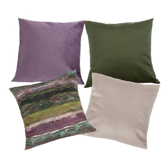 Набор из четырех чехлов Alina Village с внутренними подушками