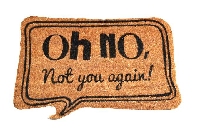 Придверный коврик темно-бежевого цвета 40х60