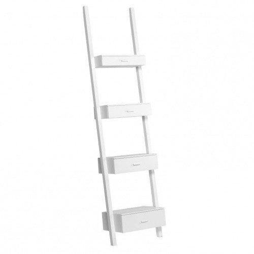 Полка-лестница (белая)