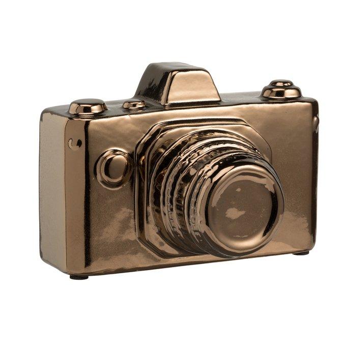 Предмет декора Camera Золотая