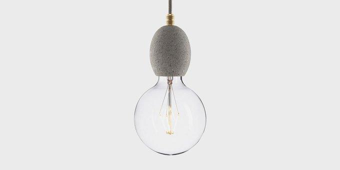 Подвесной светильник из бетона Beton Bolti Gray