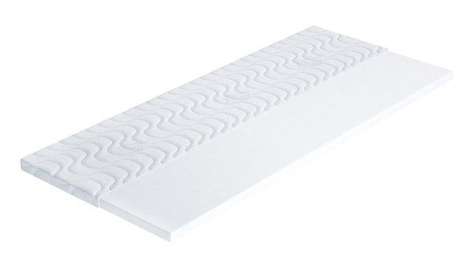 Топпер Шаум белого цвета 140х200