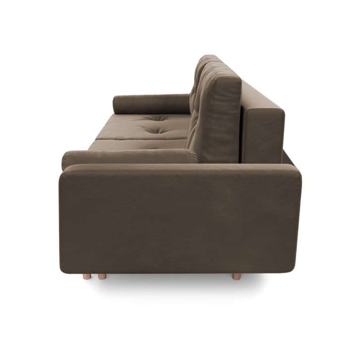 Диван-кровать Дэн коричневого цвета