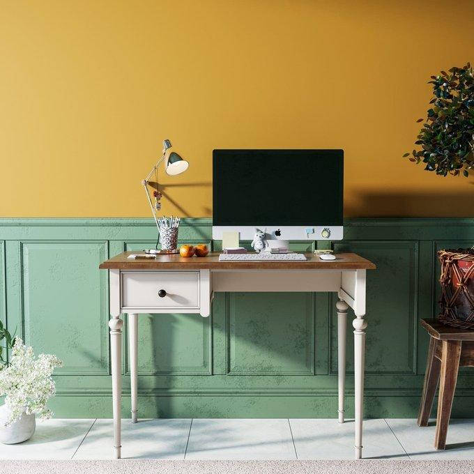 Рабочий стол Odri малый с одним ящиком