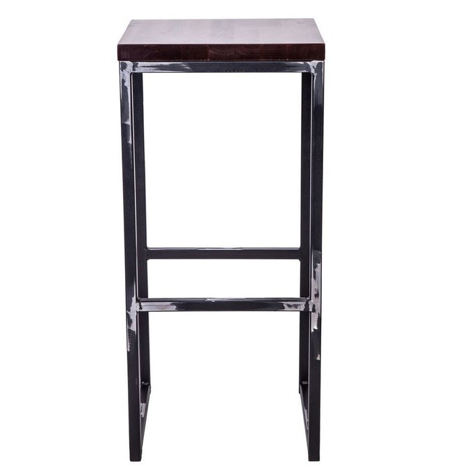 Барный стул Симпл из металла и дерева