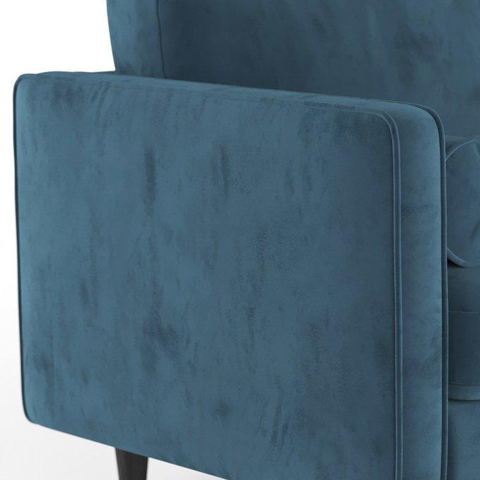 Трехместный диван Scott ST голубой