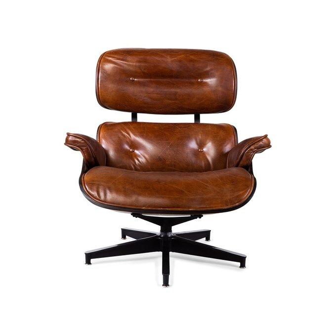 Кресло Perhonen коричневого цвета