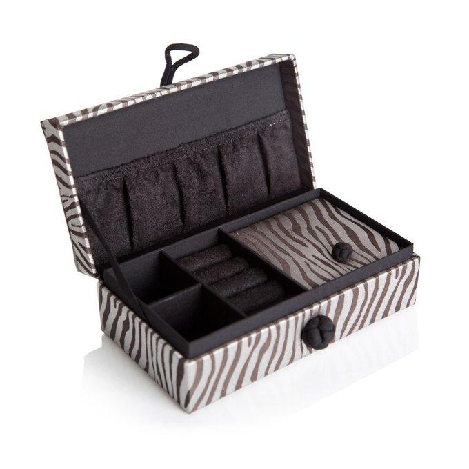 Шелковая шкатулка zebra silk