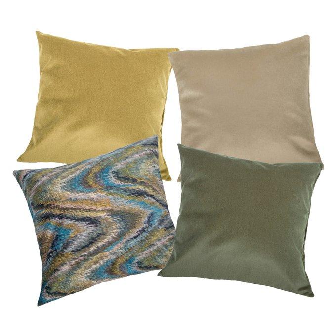 Набор из четырех чехлов Alina Wave с внутренними подушками