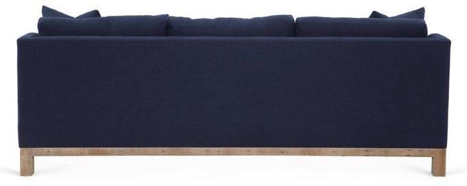 Диван Shed темно-синего цвета