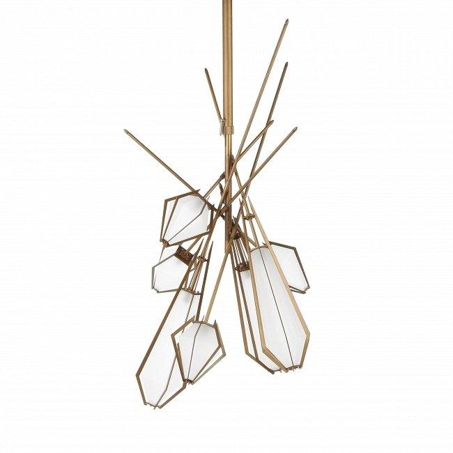 Подвесной светильник из стали