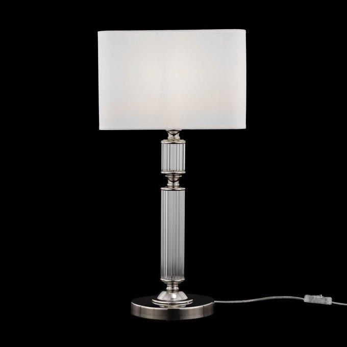Настольная лампа Ontario белого цвета