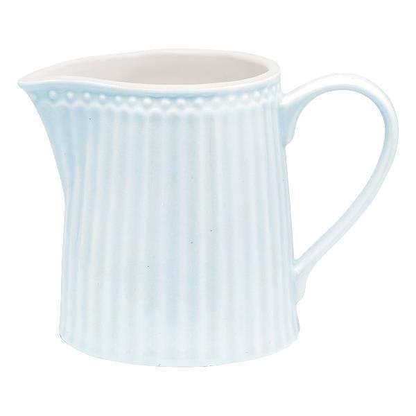 Молочник Alice pale blue из высококачественного фарфора