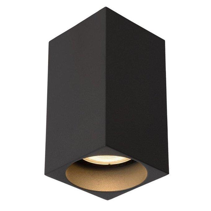 Потолочный светодиодный светильник Delto темно-серого цвета