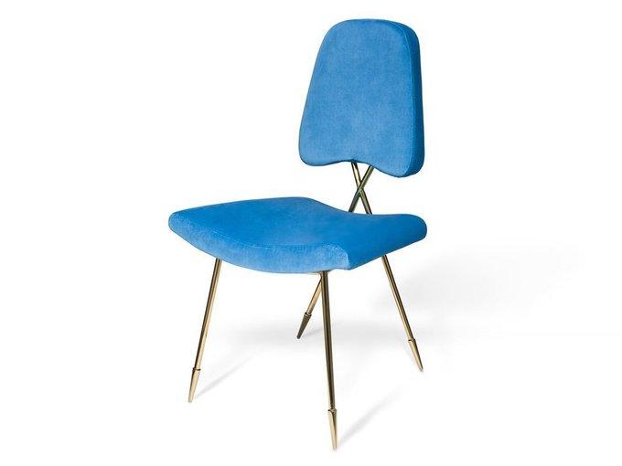 Стул Maxime Blue синего цвета