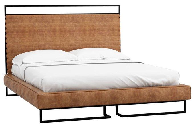 Кровать Loft Грейс Браун 140х200