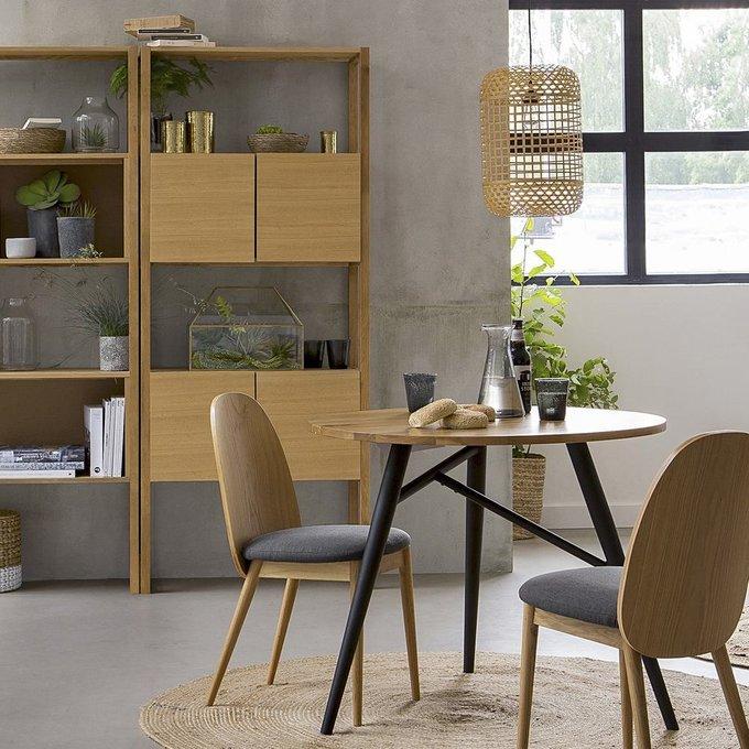 Обеденный стол Crueso из массива дуба