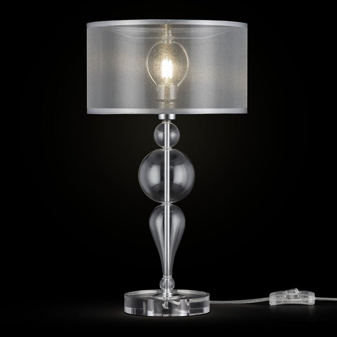 Настольная лампа Bubble Dreams из металла и стекла