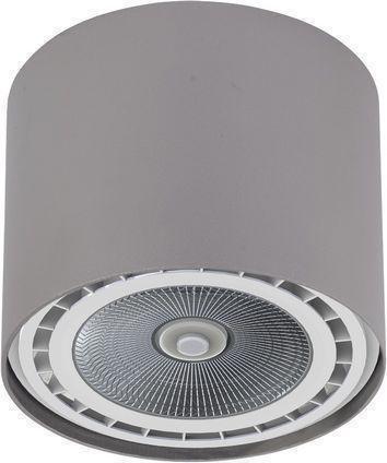 Потолочный светильник Bit серебристого цвета