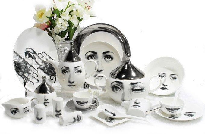 Столовый сервиз Silver Faces на 6 персон (61 предмет)