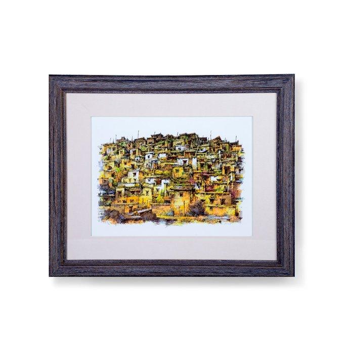 Картина на бумаге Old Town 64х78