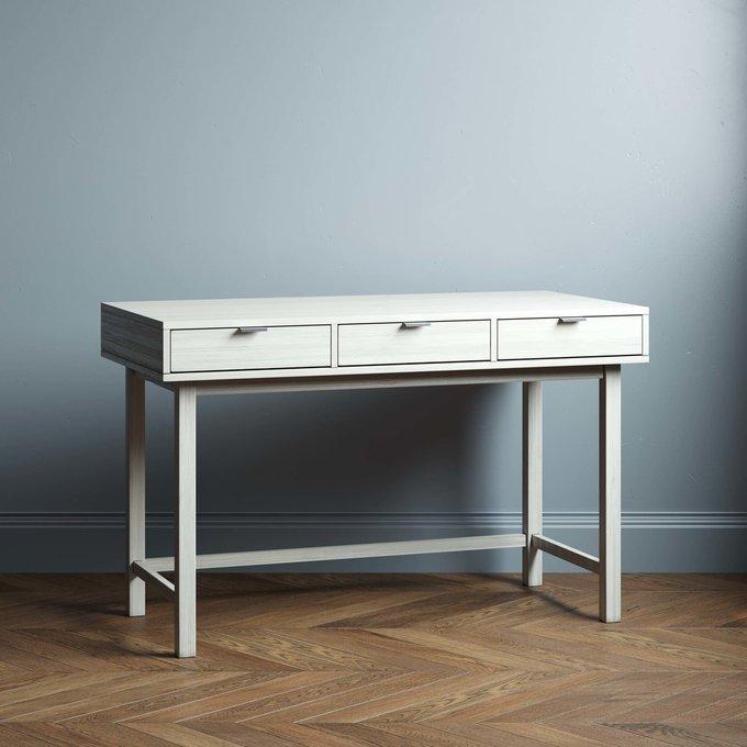 Письменный стол Marinas New 120х60 цвета беленый дуб