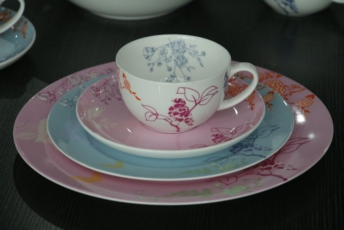 Набор посуды Sienna из фарфора