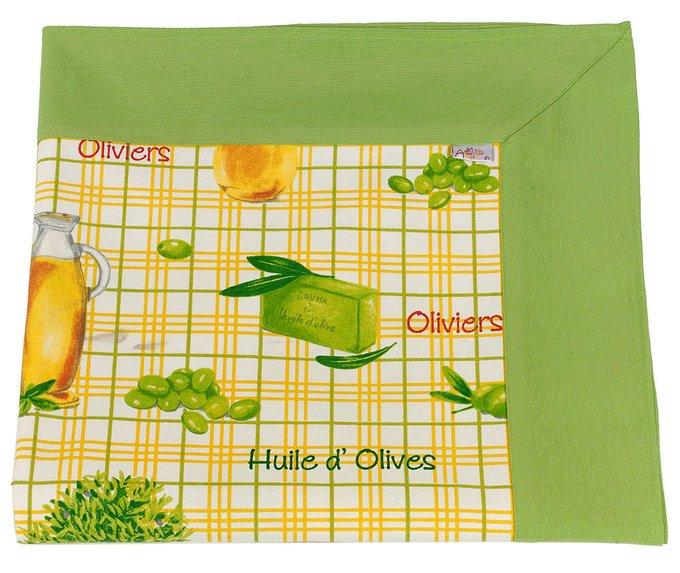 """Скатерть с кантом  """"olive"""""""