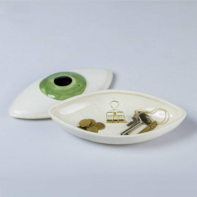 Коробка для хранения Eye из керамики