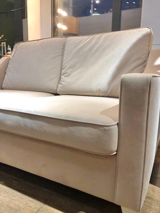 Прямой диван Грегори премиум бежевого цвета