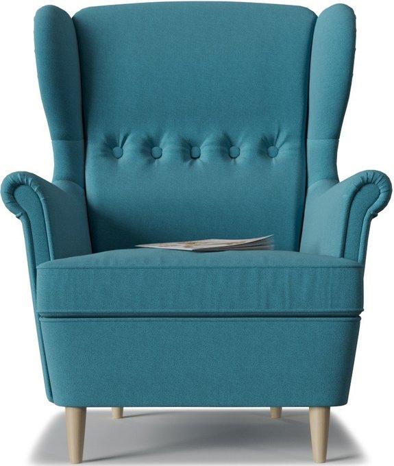 Кресло Торн Porshe Light Blue голубого цвета