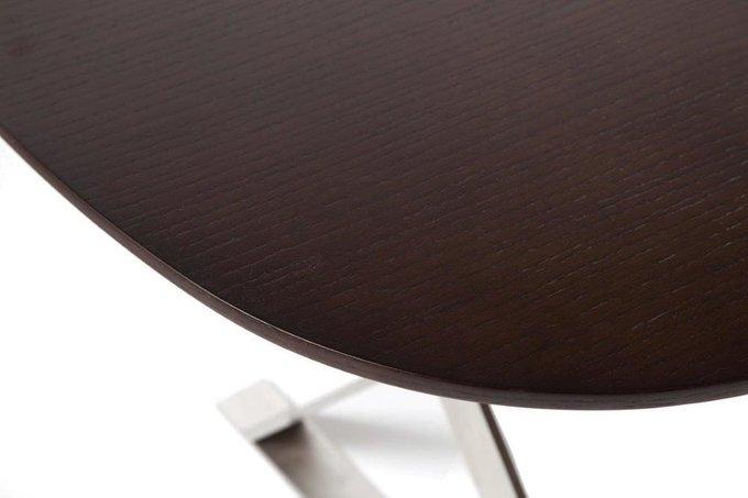 Стол на металлокаркасе Bellini Brown One