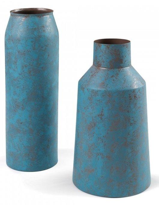 Набор из 2 металлических ваз Julia Grup SHAR