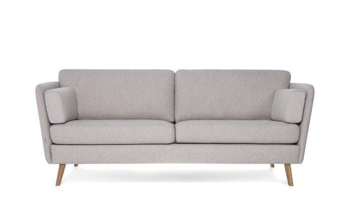 Прямой диван Visby бежевого цвета