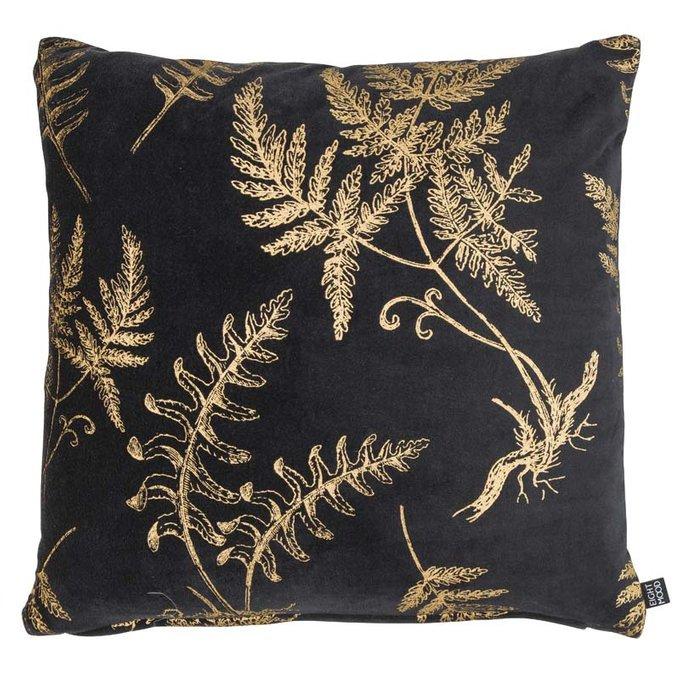 Декоративная подушка Florian черного цвета