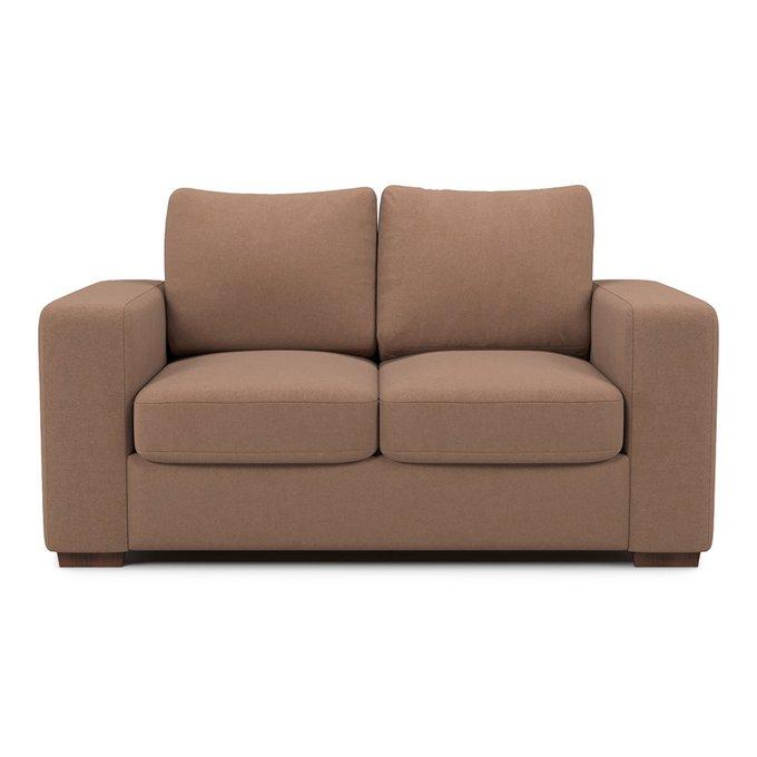 Раскладной диван Morti MTR  двухместный коричневого цвета