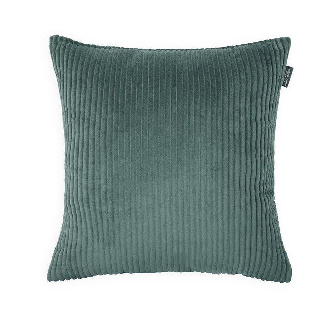 Декоративная подушка Cilium Forest зеленого цвета