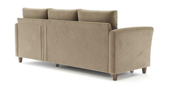 Угловой диван-кровать Катарина бежевого цвета