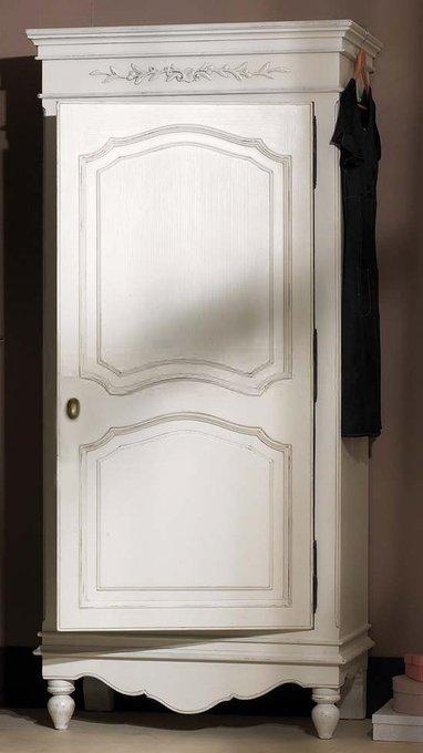Шкаф одностворчатый Снежный Прованс