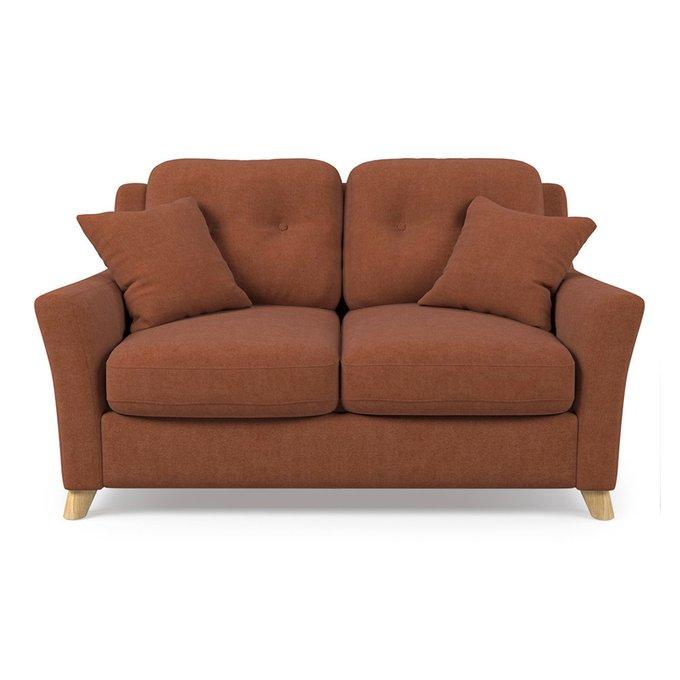 Диван-кровать Raf MT двухместный коричневого цвета