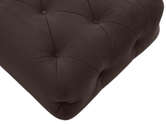 Пуф Cloud темно-коричневого цвета